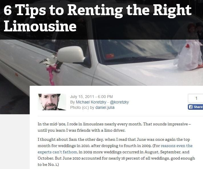 6 tips to renting the right limousine