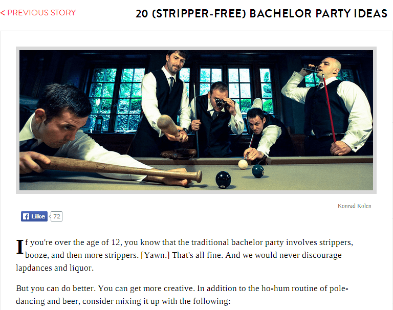 20 bachelor party ideas