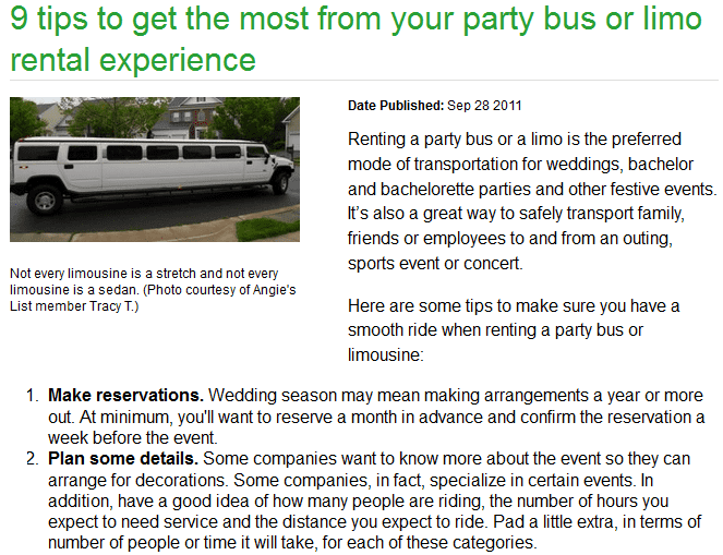 9 tips to get the most from your party bus or limo rental experience