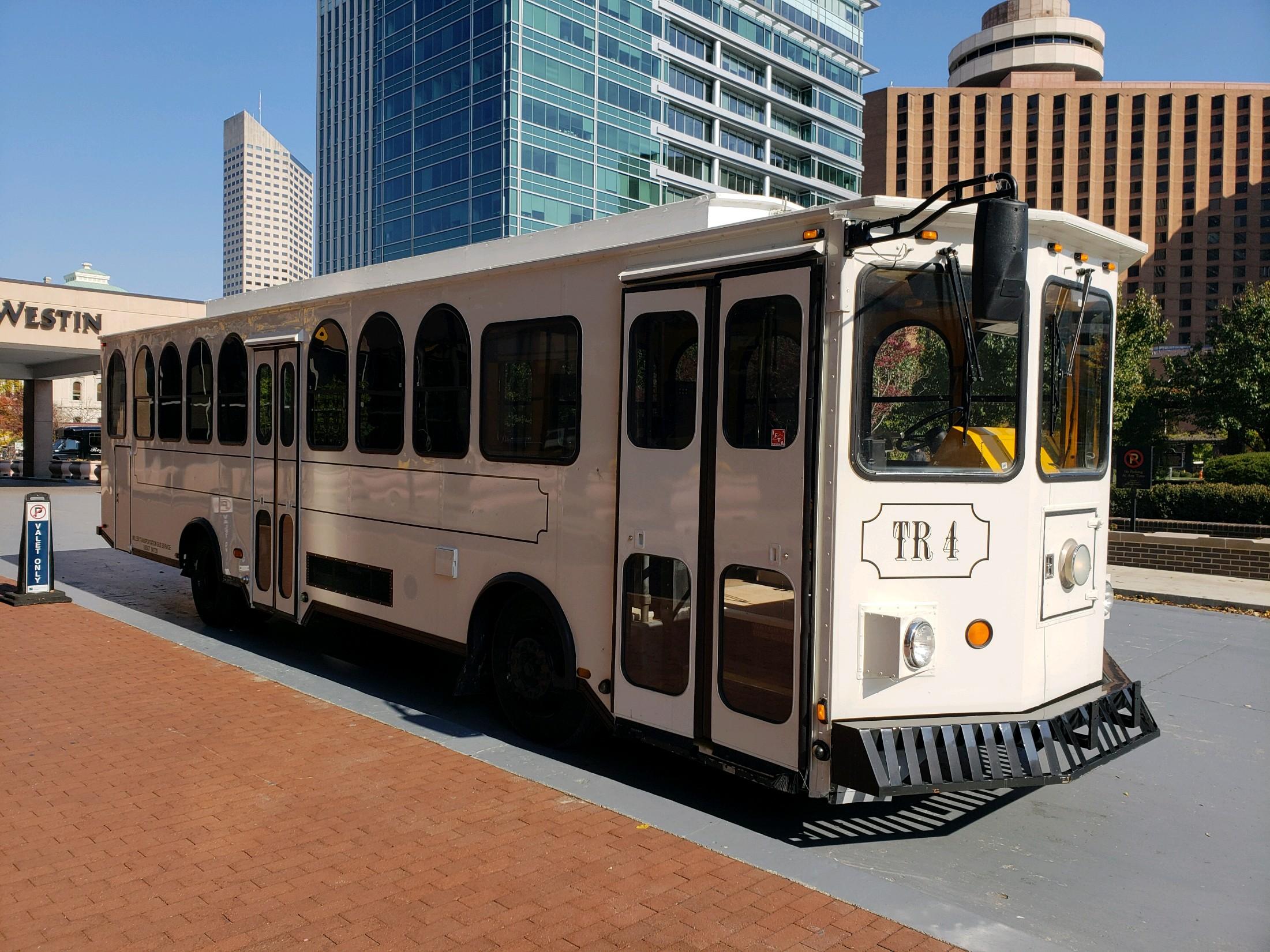 Indianapolis Trolley Rental Exterior