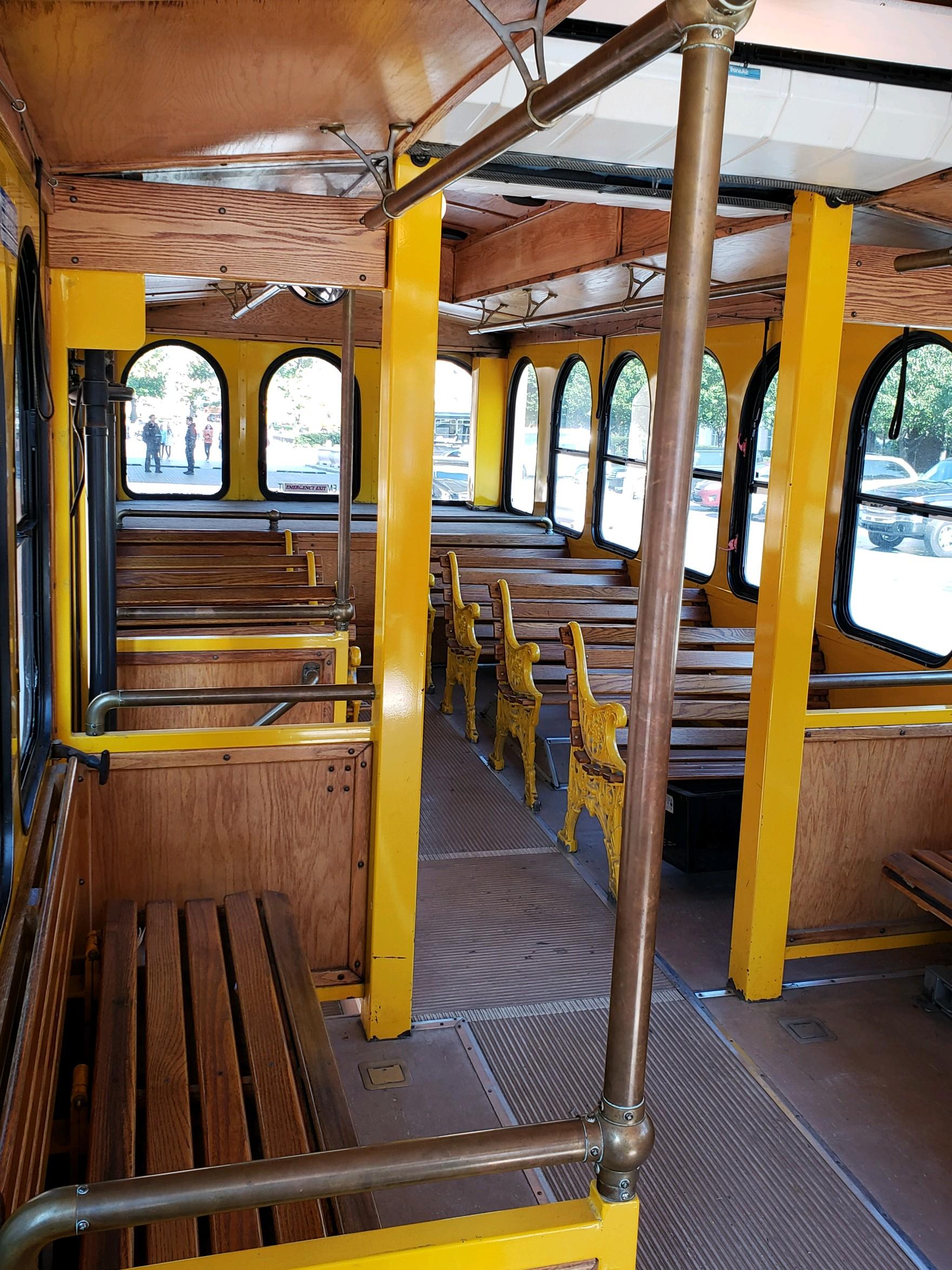 Indianapolis Trolley Rental Interior