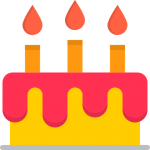 Limo Service For Birthday Party Icon
